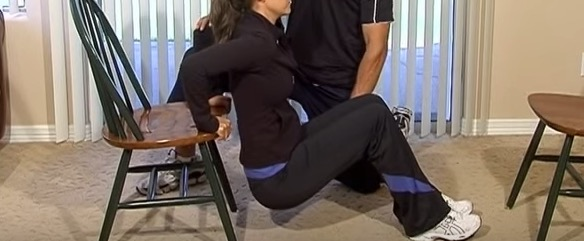 How to Do Chair Dip Triceps Exercises